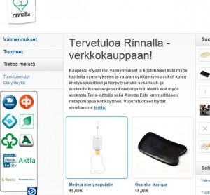 Kuva Rinnalla-verkkokauppa